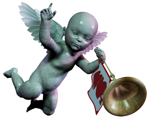 Baby with Trumpet