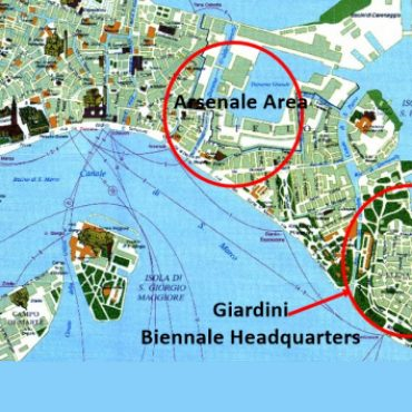 Map of the Biennale