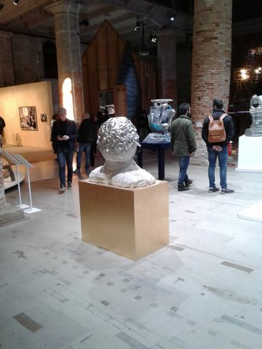 Exhibits at the Arsenale